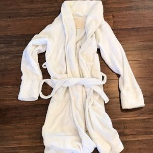 Victoria Secret white, cotton robe